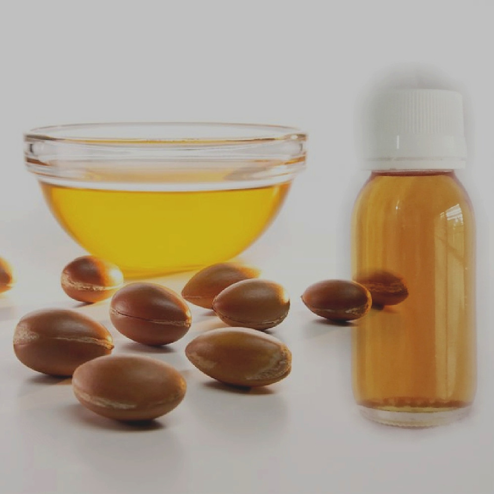 Pure golden colour argan oil from Morocco