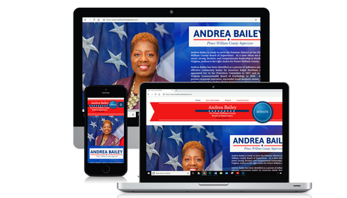 Political Landing Page
