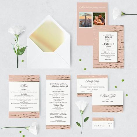 Wedding Stationary_Logos • Flyers • Invi
