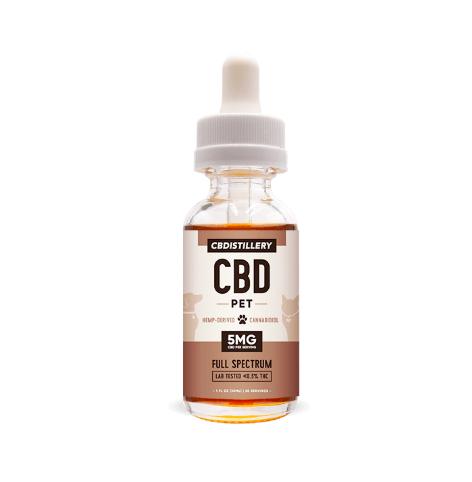 Full Spectrum CBD Pet Oil Tincture – 150 mg – 30ml