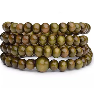 Vintage 6mm 108 Beads Natural Sandalwood Buddha/Mala Wood Bracelets