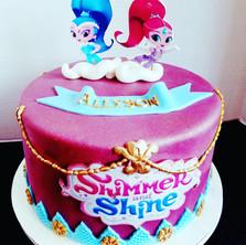 Cartoon Character Cake