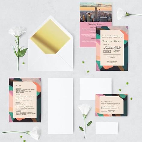 NIRAY Wedding Stationary_Logos • Flyers