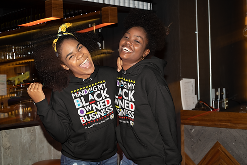 mockup-of-two-friends-wearing-hoodies-at