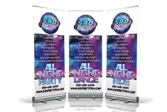 540 Party Bus Retractable banner