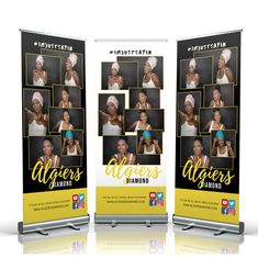 Algiers Diamond Retractable Banner