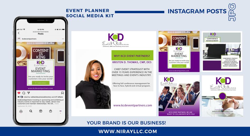 Event Planner Social Media Kit