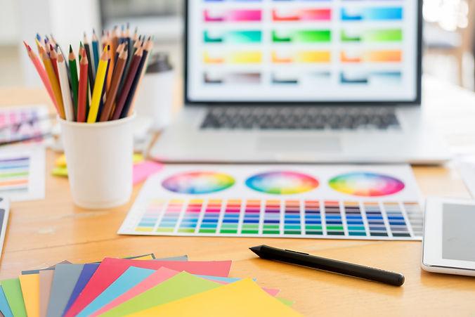 team-web-designer-working-drawing-someth