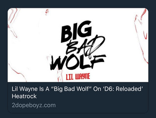 Lil Wayne Drops Dedication 6 Reloaded