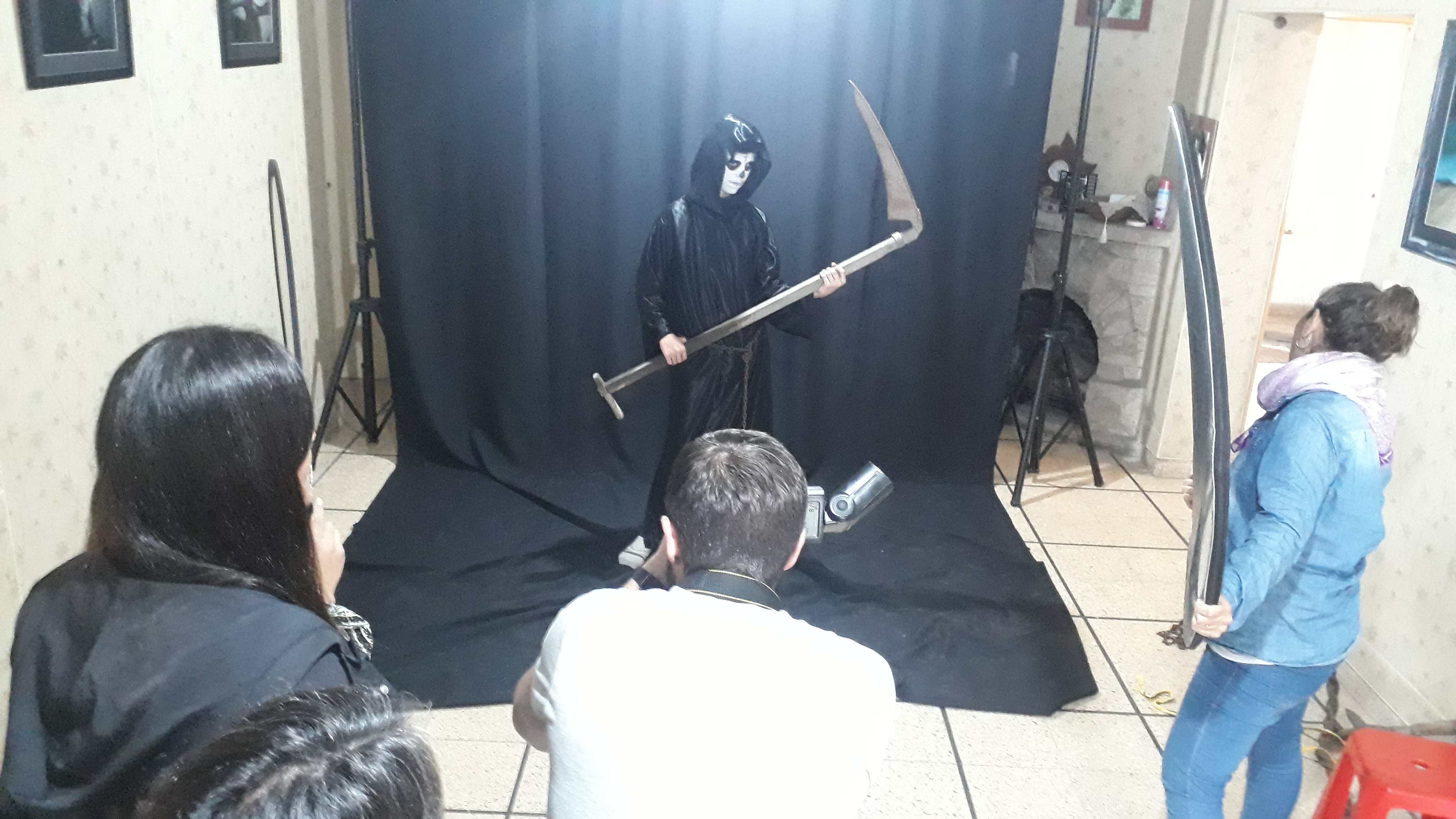 Backstage Produccion Fotografica