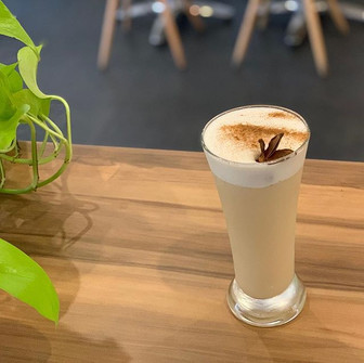 Chai Tea Fizz One of our new cocktail co