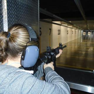 Shoot a long gun