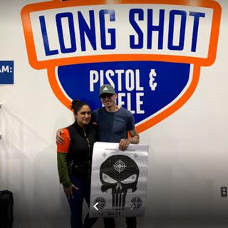 long shot pistol and rifle