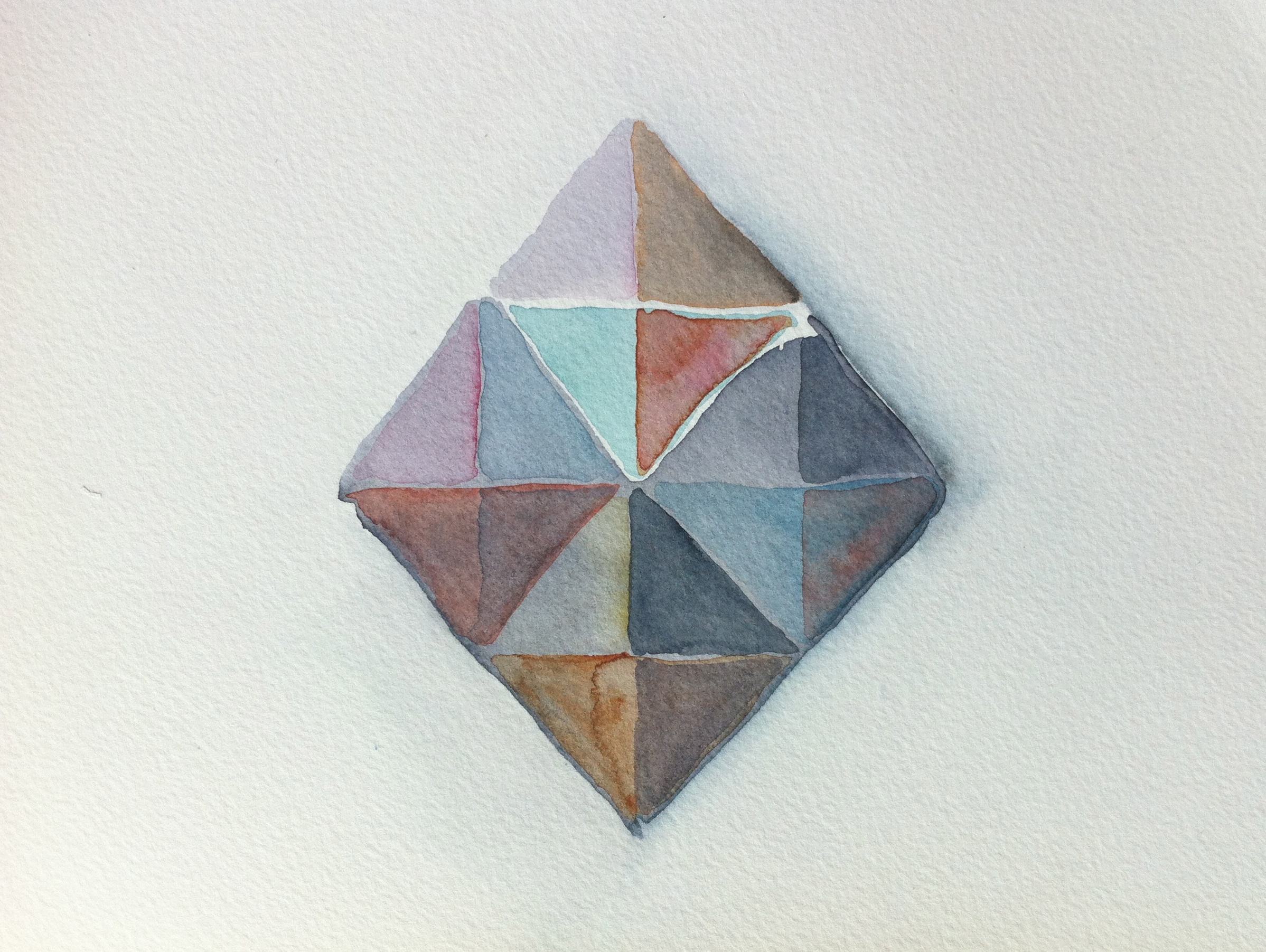 color study pyramid II