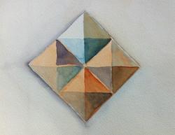 color study pyramid I