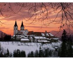 Nazarje  Kirche und Franziskanerkloster