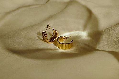 Monet Gold Earring