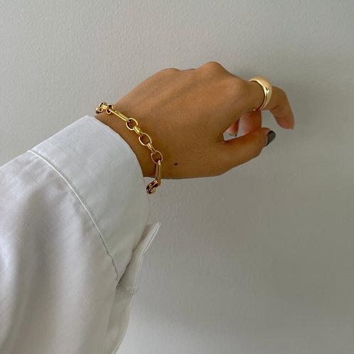 statement chain bracelet
