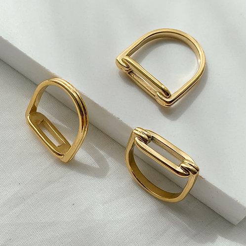 Foway Ring Retro Style