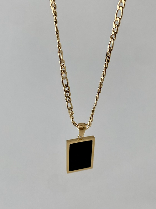 Black Pendant Necklaces