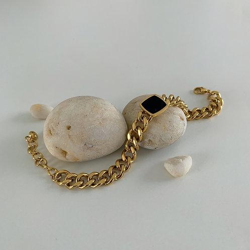 Black Square Vintage Style bracelets