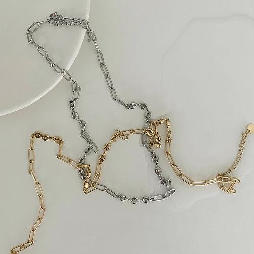 Unisex Modern Chains Necklace