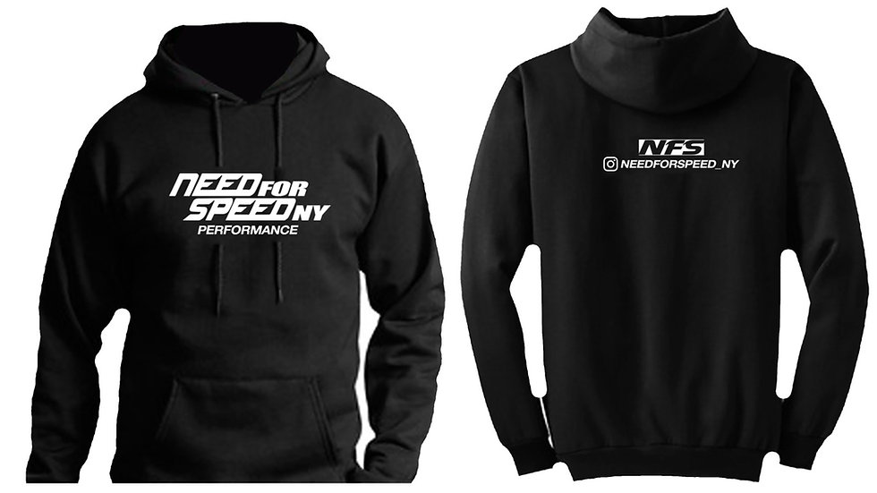 Black Classic Need For Speed Ny Hoodie