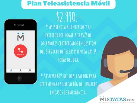 PLAN DE TELEASISTENCIA MÓVIL $2.990.-