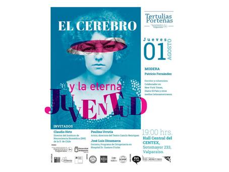 """Invitación: Segunda Tertulias Porteñas 2019 """"El Cerebro y la Eterna Juventud"""""""