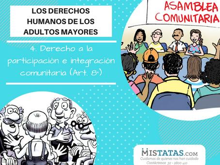 PARTICIPACIÓN SOCIAL DE LOS ADULTOS MAYORES
