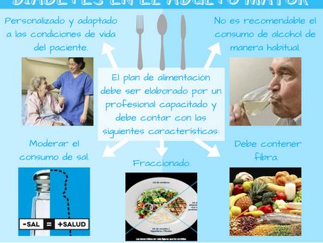 DIABETES EN EL ADULTO MAYOR - ROL DE LA ALIMENTACIÓN
