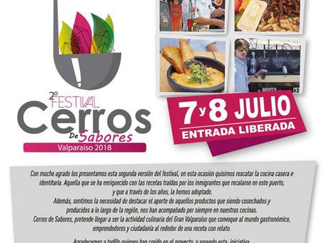 7 Y 8 DE JULIO - 2° FESTIVAL CERRO DE SABORES