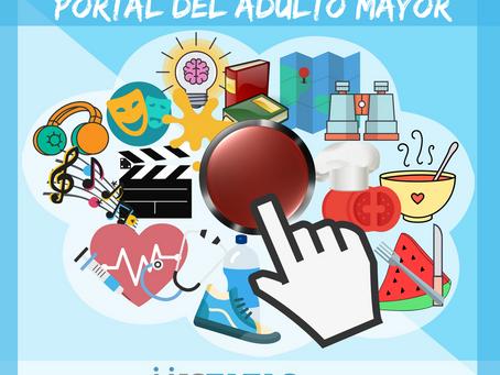 PORTAL DEL ADULTO MAYOR:¡¡¡INGRESA PULSANDO EL BOTÓN ROJO!!!