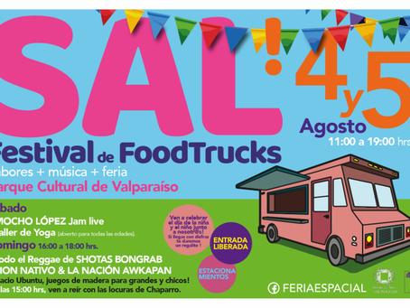 """FERIA ESPACIAL presenta """"SAL! Festival de Combis y foodtrucks"""""""