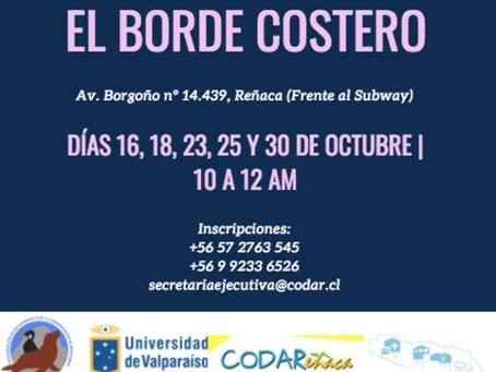 """TALLER """"Redescubriendo el#BordeCostero"""""""