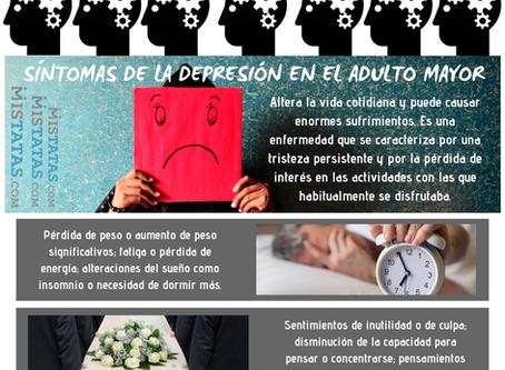 SÍNTOMAS DE LA DEPRESIÓN EN EL ADULTO MAYOR
