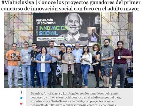 #VíaInclusiva   Conoce los proyectos ganadores del primer concurso de innovación social con foco en