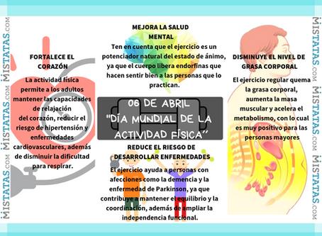 06 DE ABRIL ´´DÍA MUNDIAL DE LA ACTIVIDAD FÍSICA´´