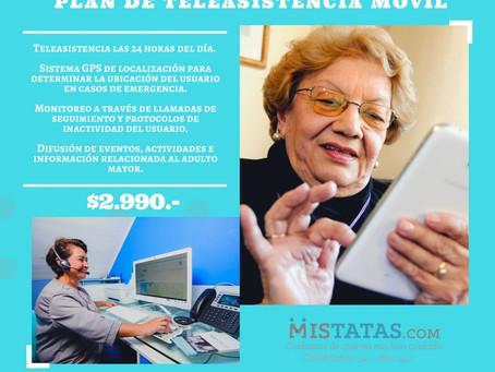 PLAN DE TELEASISTENCIA MÓVIL POR $2.990.-