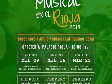 CAFÉ MUSICAL EN EL RIOJA 2019