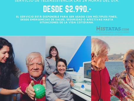 SERVICIO DE TELEASISTENCIA DESDE $2.990.-