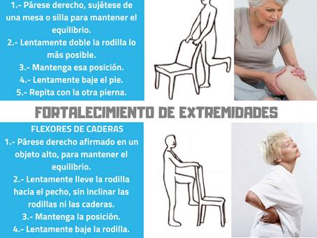 EJERCICIOS - FORTALECIMIENTO DE EXTREMIDADES