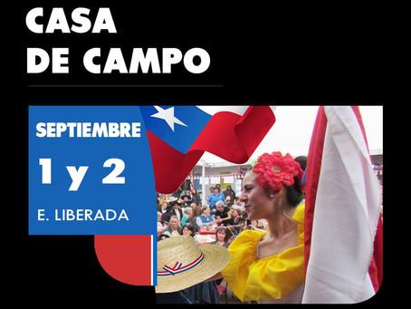 1 Y 2 DE SEPTIEMBRE - FIESTA PATRIAS ''CASA DE CAMPO''