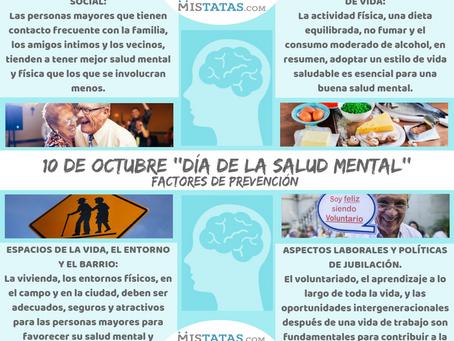 10 D OCTUBRE ''DÍA DE LA SALUD MENTAL''