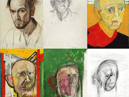Pintor William Utermohlen - Autorretratos que revelan el sufrimiento de un enfermo de Alzheimer