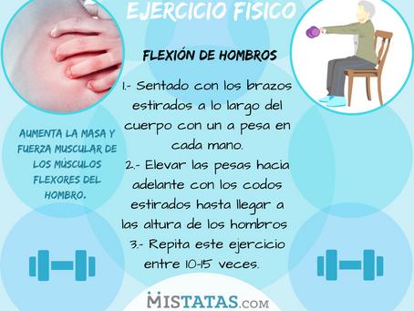 EJERCICIO FÍSICO/FLEXIONES DE HOMBRO