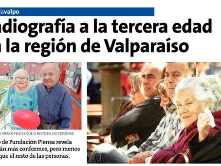 Radiografía a la tercera edad en la región de Valparaíso