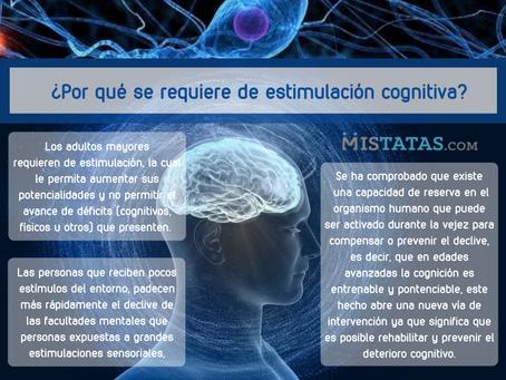 ¿Por qué se requiere de estimulación cognitiva?