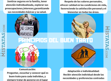 PRINCIPIOS DEL BUEN TRATO AL ADULTO MAYOR