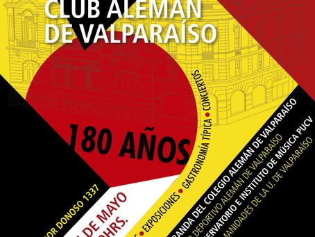 27 DE MAYO - ''DÍA DEL PATRIMONIO'' 2018/ CLUB ALEMÁN DE VALPARAÍSO